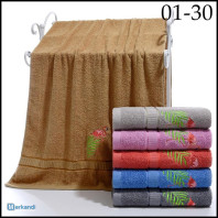 SET OF TERRY TOWELS 50x100cm 6 PIECES 01-30