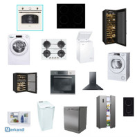 New appliances with European warranty, Candy Hoover Haier brand!