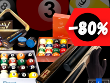Clearance of billiard accessories, cues, cue bags, balls, etc
