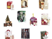 Stock of Bottega Verde cosmetic and body care gift boxes.
