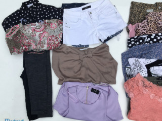 Second hand used clothing women's SUMMER MIX sorted package I quality