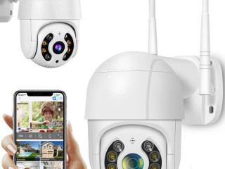 ROTARY OUTDOOR CAMERA WIFI IP 4x ZOOM SD 5Mpx