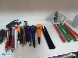 school and office supply lot: