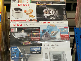 Mix pallets, B goods, piece price, branded goods, household appliances