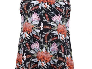 Swimsuit in a pretty floral design