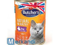 BUTCHER'S NATURAL&HEALTHY CAT WITH GAME JUNKS IN JELLY 400g