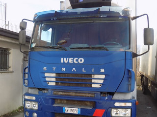 IVECO STRALIS 350 isothermal with refrigeration unit euro 5