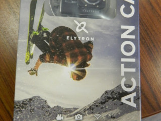 ELYTRON sports and action camera AS1, 4K. With APP control !!
