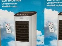 Air cooler with water cooling