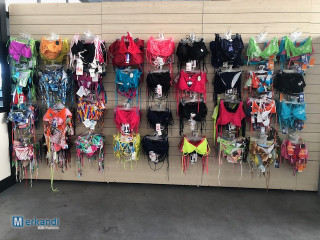 Stock of clothing, underwear and costumes