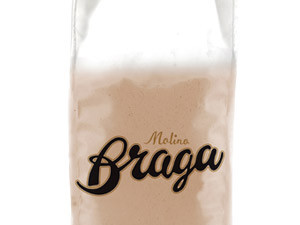 Molino Braga | Red pea flour from Italy, 10kg | Best before: 06/2021
