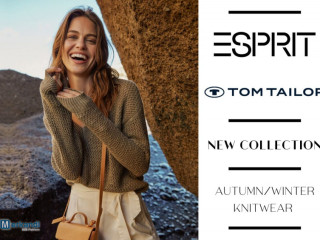 ESPRIT AND TOM TAILOR WOMEN'S KNITWEAR COLLECTION - 5,40 EUR / PIECE