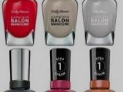 High quality nail polish from Sally Hensen Rimmel and Pros
