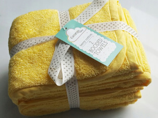 2 x 100% cotton TOWEL FOR CHILDREN 0+ 75x75 with a Hood