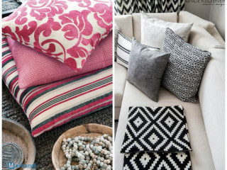 Home textiles - branded pillows, pillowcases, bedding, rugs for SALE